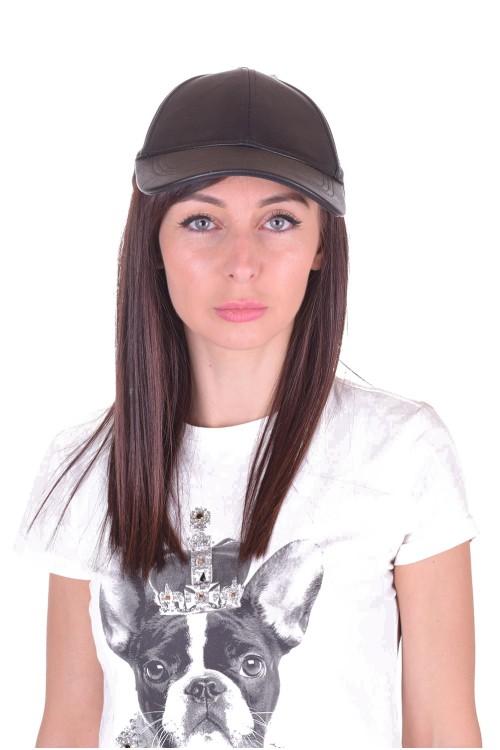 Дамска шапка от изкуствена кожа 5.00