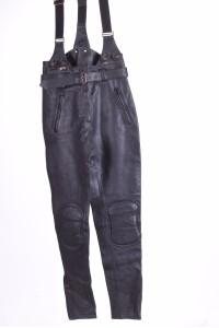 Чудесен моторджийски панталон от естествена кожа