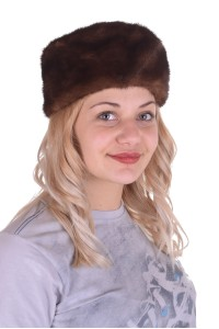Изискана шапка от норка